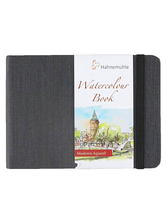 Hahnemühle Watercolour Book - Sketchbook Horizontal; A6 10,5 x 14,8 cm, 30 Hojas, 200 g/m2