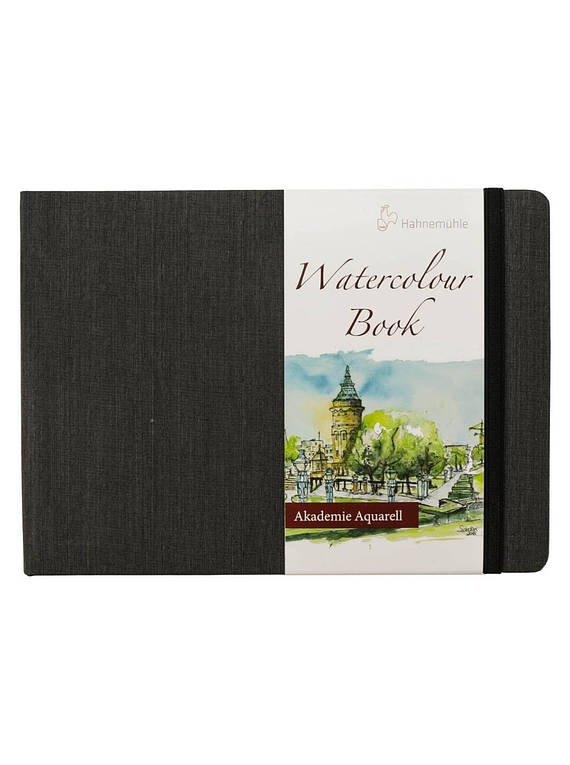 Hahnemühle Watercolour Book - Sketchbook Horizontal; A5 14,8 x 21 cm, 30 Hojas, 200 g/m2