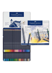 Faber Castell Goldfaber Aqua - Set 48 Lápices de Colores Acuarelables