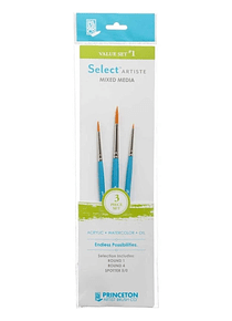 Princeton Select Artiste - Set 3 Pinceles Value Set 1