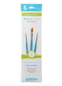 Princeton Select Artiste - Set 3 Pinceles Value Set 2