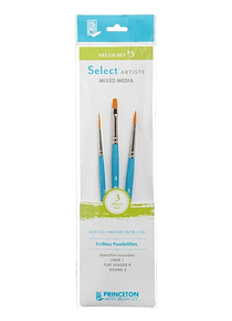 Princeton Select Artiste - Set 3 Pinceles Value Set 3