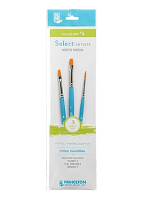 Princeton Select Artiste - Set 3 Pinceles Value Set 4