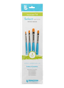 Princeton Select Artiste - Set 4 Pinceles Value Set 11