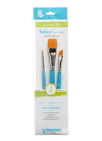 Princeton Select Artiste - Set 3 Pinceles Value Set 14