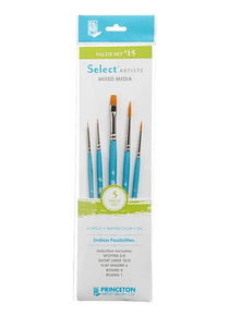 Princeton Select Artiste - Set 5 Pinceles Value Set 15
