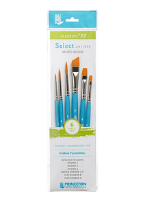 Princeton Select Artiste - Set 6 Pinceles Value Set 22