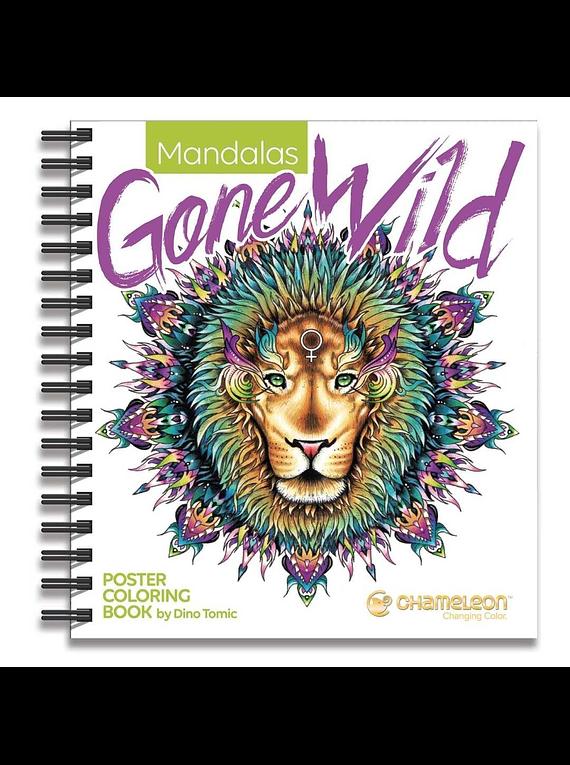 Chameleon - Libro para Colorear Mandalas Gone Wild