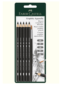 Faber-Castell Graphite Aquarelle - Kit Grafito y Pincel