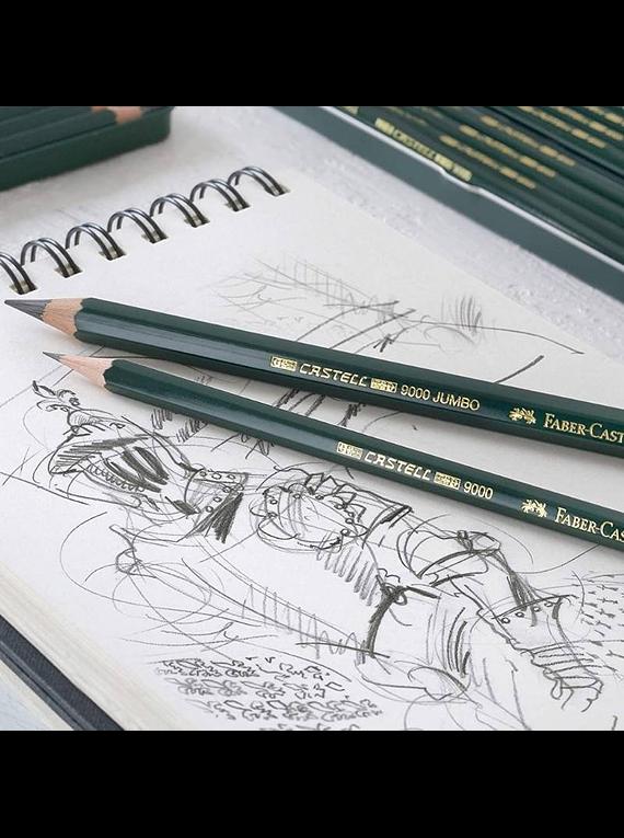 Faber-Castell Pitt Charcoal - Kit Carboncillo de 24 Lápices y Accesorios
