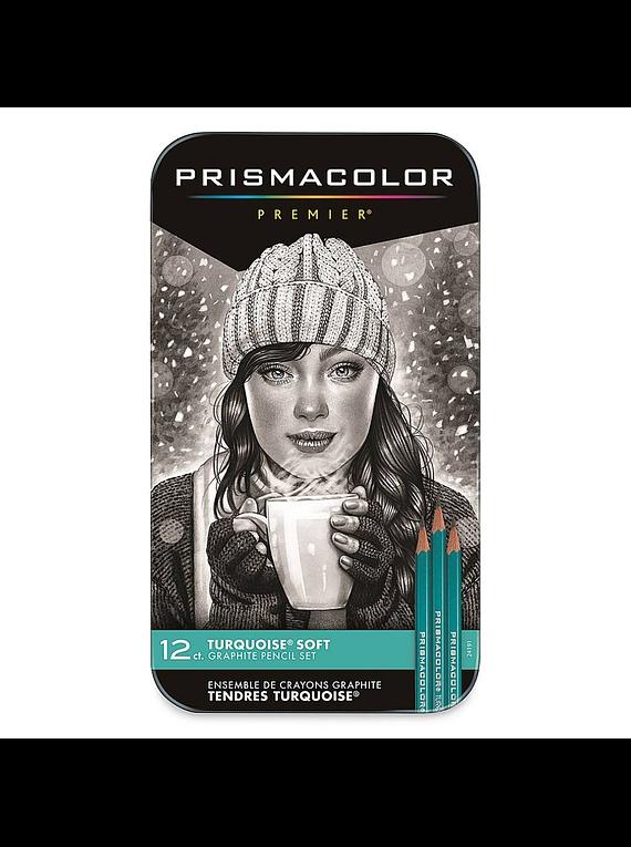 Prismacolor Premier - Set 12 Lápices Grafito; Blandos