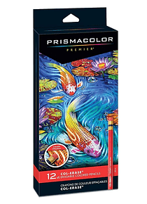 Prismacolor - Set de 12 Lápices de Colores Borrables Col-Erase
