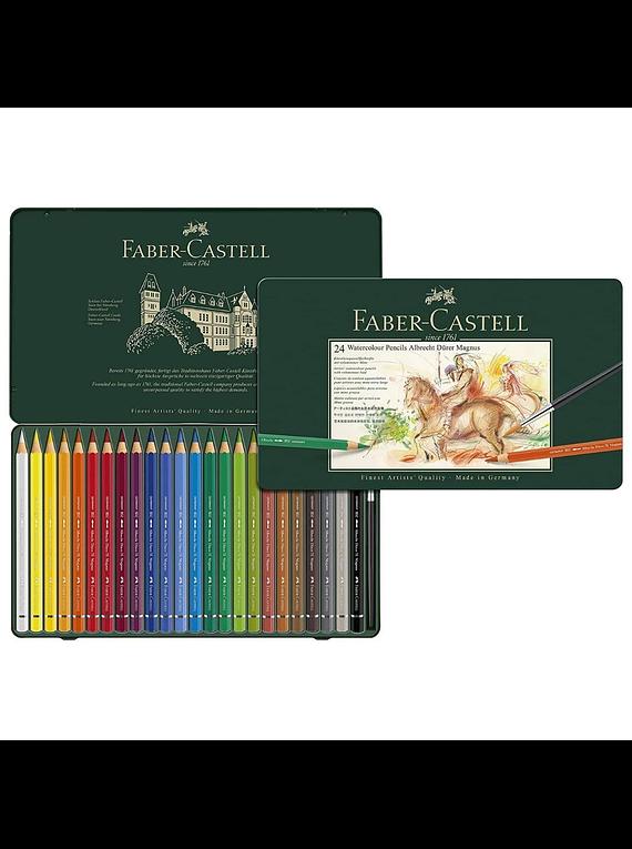 Faber-Castell Albrecht Durer Magnus - Set 24 Lápices Acuarelables (Watercolor)