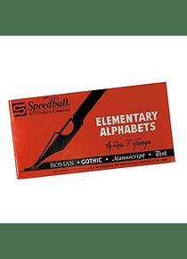Speedball - Revista de Caligrafía Elementary Alphabets (Inglés)