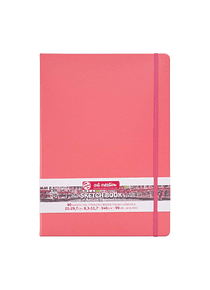 Talens Art Creation Sketch Book - Libreta Coral Red 21 x 30 cm, 80 Hojas, 140 g/m2