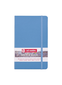 Talens Art Creation Sketch Book - Libreta Lake Blue 13 x 21 cm, 80 Hojas, 140 g/m2