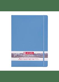 Talens Art Creation Sketch Book - Libreta Lake Blue 21 x 30 cm, 80 Hojas, 140 g/m2
