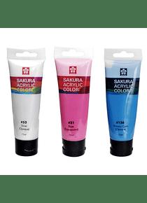 Sakura Acrylic Color - Pintura Acrílica en Tubos 75 ml