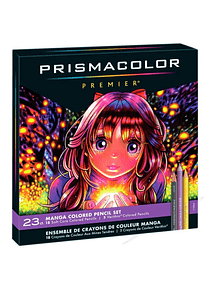 Prismacolor Premier - Set 23 Lápices de Colores; Serie Manga