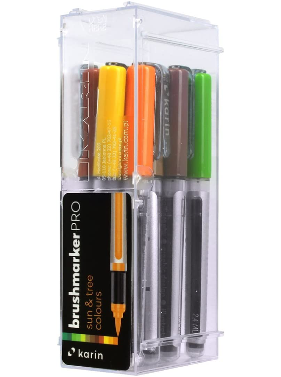Karin BrushMarker Pro - Set 12 Marcadores Sun & Tree Colours