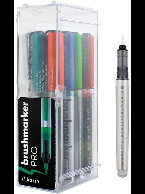 Karin BrushMarker Pro - Set 11 Marcadores Basic Colours + Blender