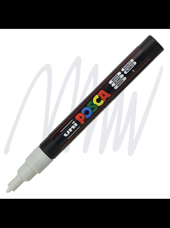 Uni Posca PC-3M - Marcadores Finos (24 Colores Disponibles)