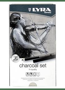 Lyra - Kit Carboncillo 11 Piezas