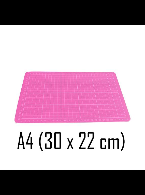 Base de Corte A4 (30 x 22 cm) Color Rosado
