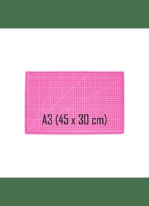 Base de Corte A3 (45 x 30 cm) Color Rosado