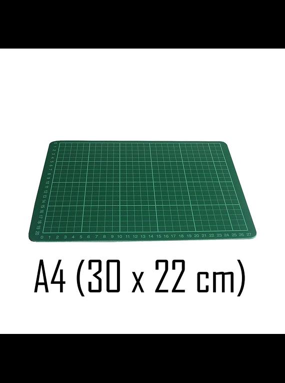 Base de Corte A4 (30 x 22 cm) Color Verde
