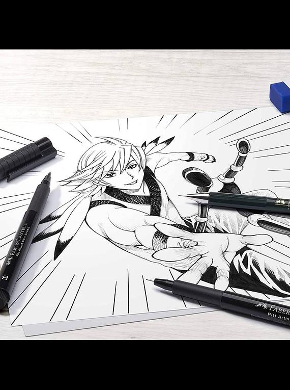 Faber Castell - Kit Dibujo Manga Starter 10 Piezas