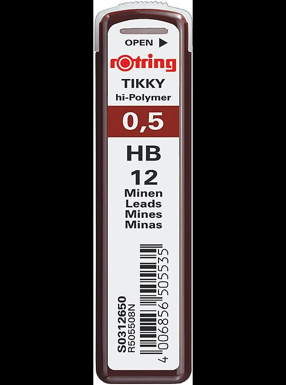Rotring Rapidograph - Kit Tiralíneas Recargable College Set 0,1 0,3 y 0,5 mm