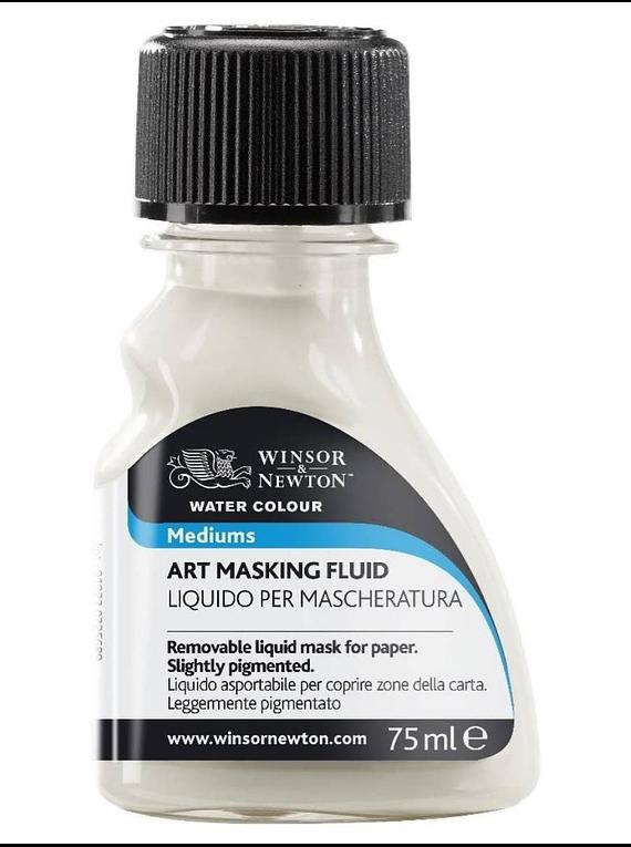 Winsor & Newton Watercolour - Líquido Enmascarador Botella 75 ml; Ligeramente Pigmentado