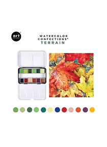 Art Philosophy Watercolor Confections - Set 12 Acuarelas Terrain