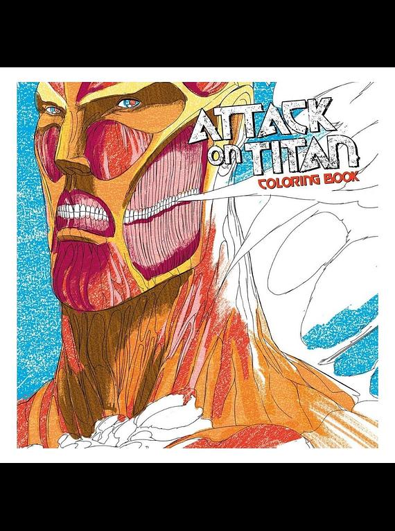 Attack on Titan Coloring Book - Hajime Isayama