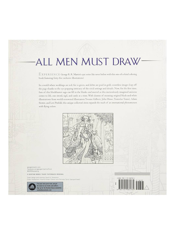 The Official A Game of Thrones Coloring Book - George R. R. Martin