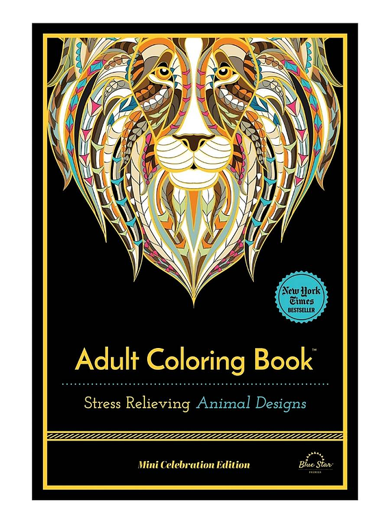 Stress Relieving Animal Designs - Blue Star Press