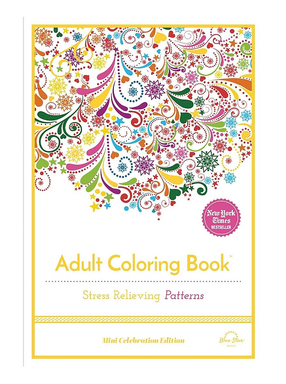 Stress Relieving Patterns - Blue Star Press