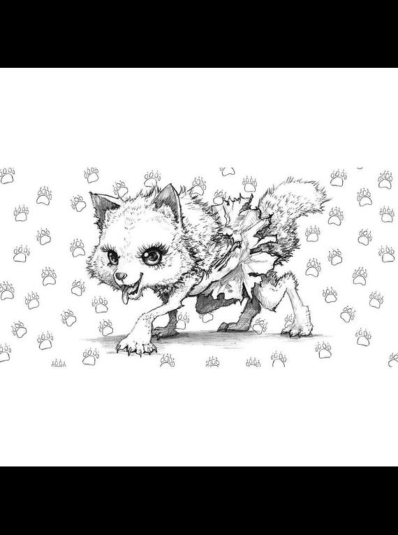 Pop Manga Cute and Creepy Coloring Book - Camilla d'Errico