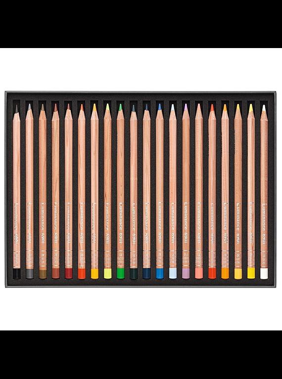 Caran d'Ache Luminance - Set 20 Lápices de Colores