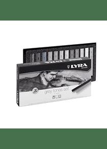 Lyra - Set 12 Pasteles Gray Tones Duros
