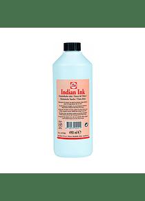 Talens - Tinta China; 490 ml Color Negro