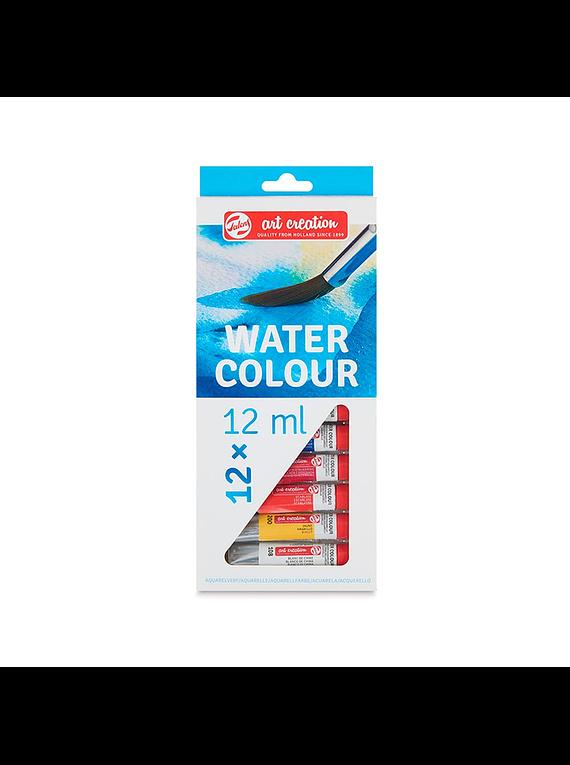 Talens Art Creation Water Colour - Set 12 Acuarelas Tubos de 12 ml