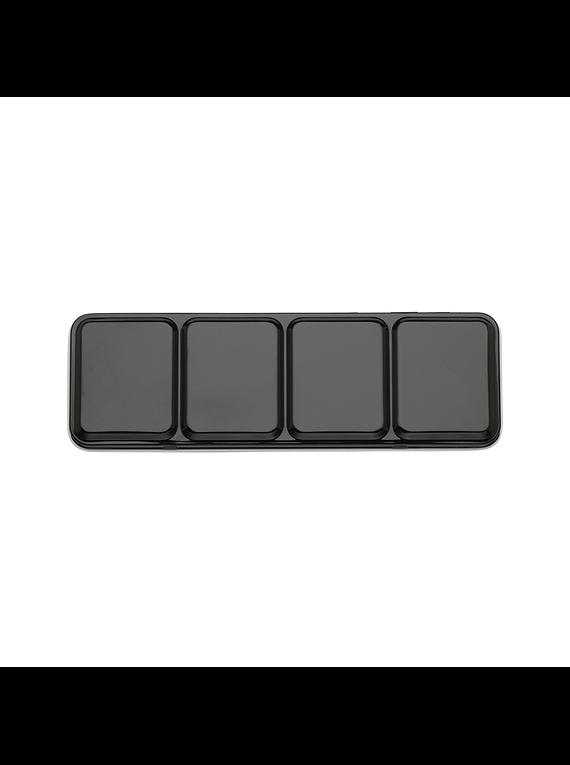 Ami - Caja Metálica Vacía para Acuarelas en Pastilla 24 espacios