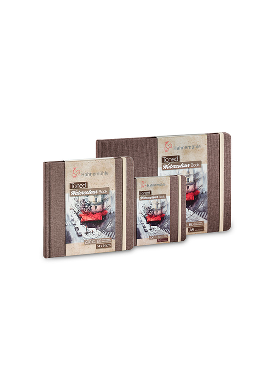 Hahnemühle Toned Watercolour Book - Sketchbook papel Beige