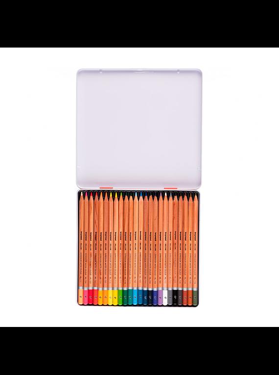 Bruynzeel Expression - Set 24 Lápices de Colores Acuarelables