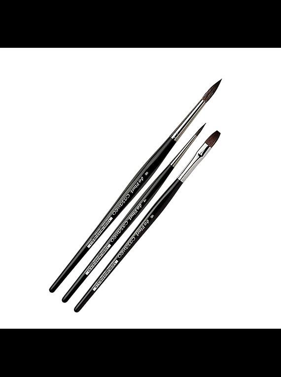 da Vinci Casaneo - Set 3 Pinceles Acuarela Series 5386