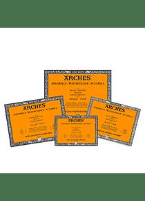 Arches - Block Acuarela Grano Grueso 300 g/m2 20 h