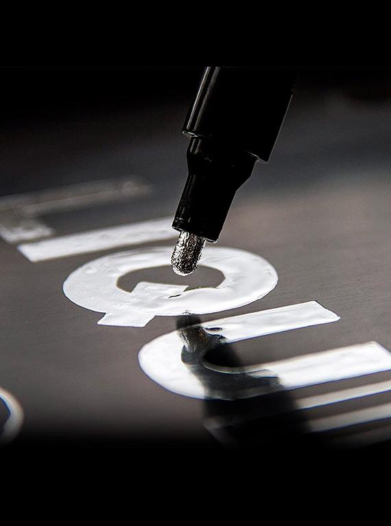 Molotow Liquid Chrome - Marcador de Pintura Cromada