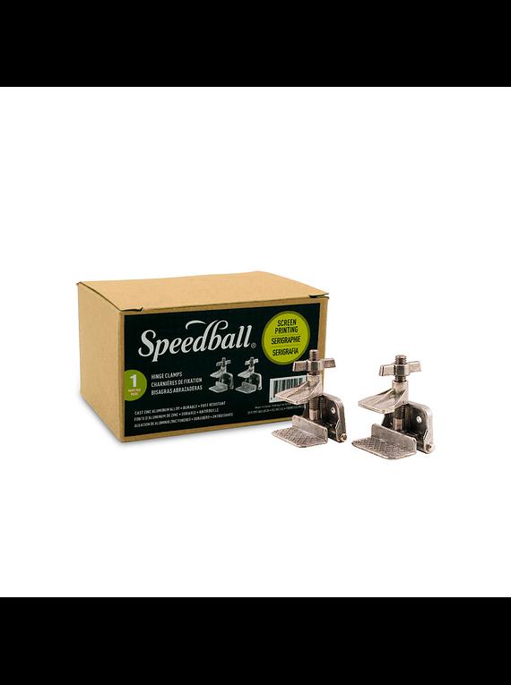 Speedball - Bisagras para Serigrafía con Agarradera y Tornillos